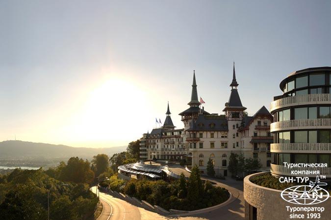 Летнее путешествие в Швейцарию с отелем The Dolder Grand